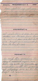 Diary entry Dated 08/05/63