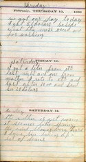 Diary entry Dated 02/12/64